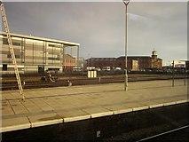 SK3635 : Derby College from the station by Derek Harper