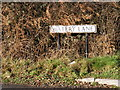 TL0915 : Watery Lane sign by Adrian Cable