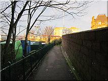 NS3421 : Pedestrian Footpath by Billy McCrorie
