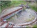 NM7236 : Turntable, Isle of Mull Railway by Richard Webb