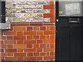 TQ3482 : Brown tiles, The Royal Oak pub, Columbia Road E2 by Robin Stott