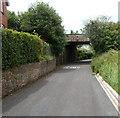 ST5276 : Station Road railway bridge, Shirehampton, Bristol  by Jaggery