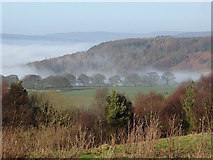 SK2767 : Winter afternoon above the Derwent valley by Andrew Hill
