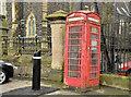 """D1003 : """"K6"""" telephone box, Ballymena by Albert Bridge"""
