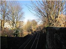 NS3421 : Ayr Railway Line by Billy McCrorie