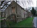 SU1799 : Stone barn near Whelford Mill by Vieve Forward