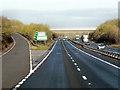 SU4884 : Northbound A34, West Ilsley by David Dixon