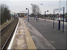 TQ2469 : Wimbledon Chase railway station, London by Nigel Thompson