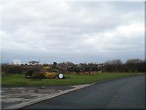 SD3642 : Shard Lane corner near Bank Farm by Colin Pyle