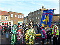 TL2797 : Colourful costumes - Whittlesea Straw Bear Festival 2013 by Richard Humphrey
