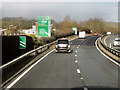SP4806 : Approaching Botley interchange by David Dixon