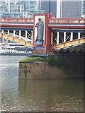 "TQ3078 : ""Local Government"", Vauxhall Bridge by Oliver Dixon"
