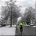 TL4756 : A winter morning on Mowbray Road by John Sutton