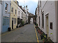TQ2679 : Kynance Mews (East) looking West by Roger Jones
