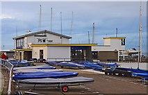 J5182 : Ballyholme Yacht Club (1), Seacliff Road, Ballyholme, Bangor by P L Chadwick