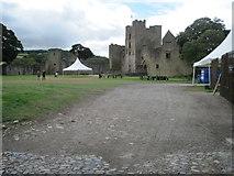 SO5074 : Ludlow Castle by Nigel Thompson