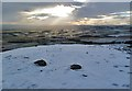 NT5431 : The summit of Eildon Wester Hill by Walter Baxter