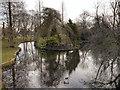 SD5706 : Mesnes Park Lake by David Dixon