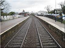 SW6439 : Camborne railway station, Cornwall by Nigel Thompson
