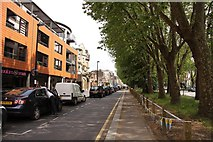 TQ3581 : Mile End Road in Tower Hamlets by Steve Daniels