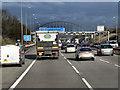 SP1475 : Northbound M42 near Blythe Valley Park by David Dixon