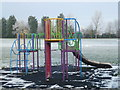 TL4889 : Playground and playing field in Manea by Richard Humphrey
