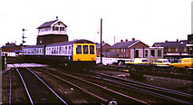 TA2609 : Railway at Grimsby by Malc McDonald