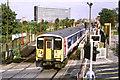 TQ1073 : Train at Feltham by Malc McDonald