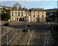 SO8505 : Grade II listed former Stroud police station and court by Jaggery