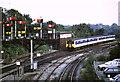 ST1380 : Train approaching Radyr by Malc McDonald