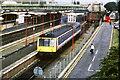 SU9780 : Train leaving Slough by Malc McDonald