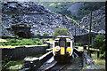 SH6946 : Train approaching Blaenau Ffestiniog by Malc McDonald