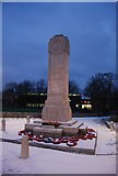 TQ7668 : Gillingham War Memorial by N Chadwick