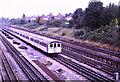 TQ2384 : London Underground near Willesden Green by Malc McDonald