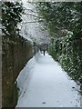 SP9211 : Museum alleyway by Rob Farrow
