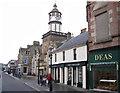 NH5458 : High Street, Dingwall by Richard Dorrell