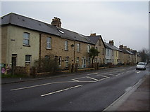 SX8672 : Houses on Newton Road by Anthony Vosper