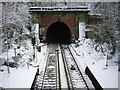 TQ3372 : Tunnel mouth at Sydenham Hill station by Christopher Hilton