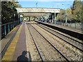 ST1783 : Lisvane & Thornhill railway station, Cardiff by Nigel Thompson