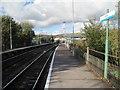 ST1486 : Aber railway station, Gwent by Nigel Thompson
