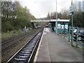 ST1494 : Ystrad Mynach railway station, Gwent by Nigel Thompson