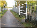 ST1594 : Hengoed 'High Level' railway station (site), Gwent by Nigel Thompson