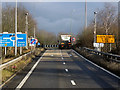SP1778 : M42, Exit at Junction 5 (Solihull) by David Dixon