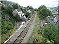 SO1303 : Tir-Phil railway station by Nigel Thompson