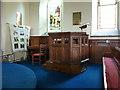 NY5057 : The Parish Church of St Mary Magdalene, Hayton, Pulpit by Alexander P Kapp