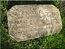 SX9473 : Foundation stone by Higher Brook Street by Robin Stott