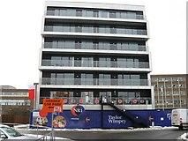 TG2407 : New flats, Carrow Road,NR1 by Alex McGregor