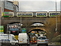 SP0887 : Train over Lawley Middleway by David Dixon