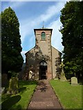 NY5455 : St Peter's Church, Castle Carrock by Alexander P Kapp