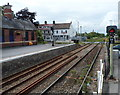 ST5178 : Gloucester Road level crossing viewed from  Avonmouth railway station, Bristol by Jaggery